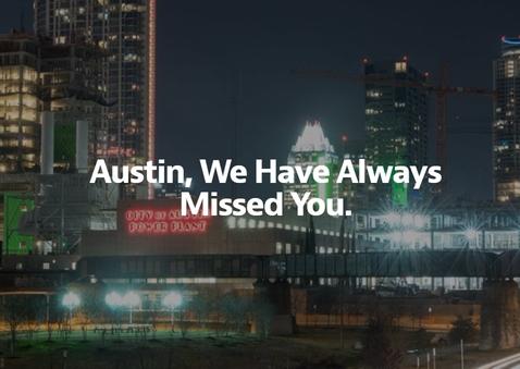 Austin – we have always missed you