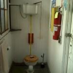 Photo of the Water Closet off the garden in Prieto Studios