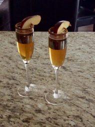 Jack Daniels Apple Cider Mimosa