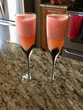 Fresh Squeezed Grapefruit Mimosa