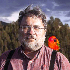 photo of Mark Couhig and Parrott
