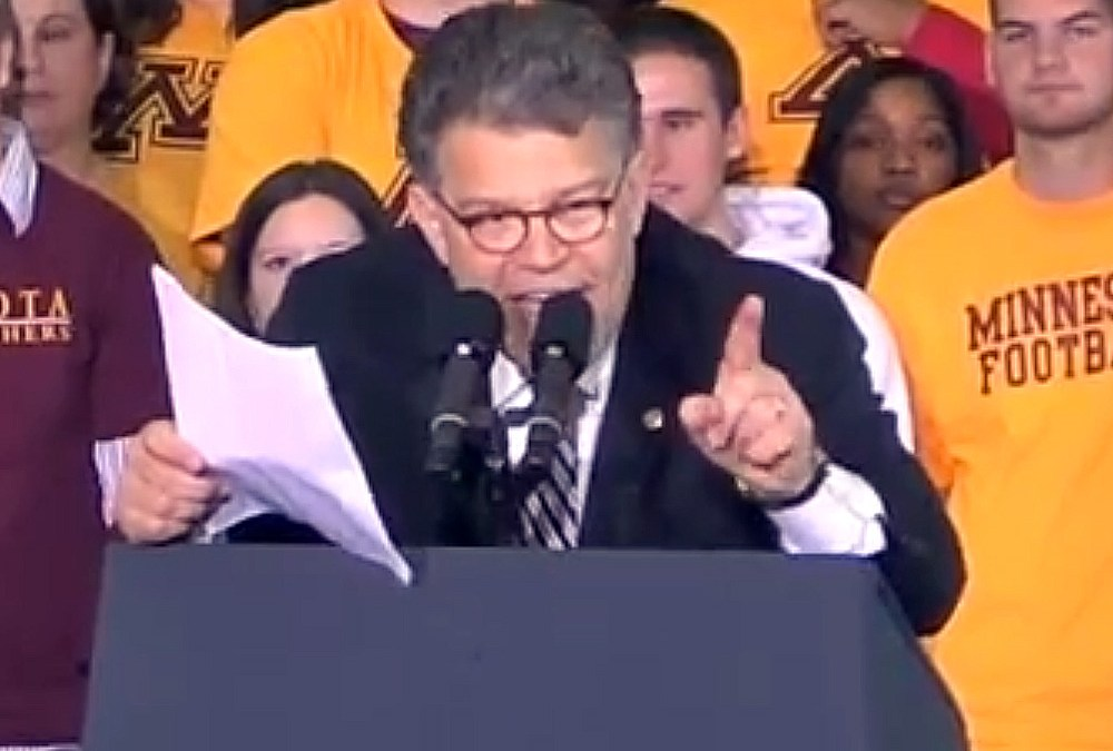 Al Franken speech: Obama's car-in-the-ditch metaphor
