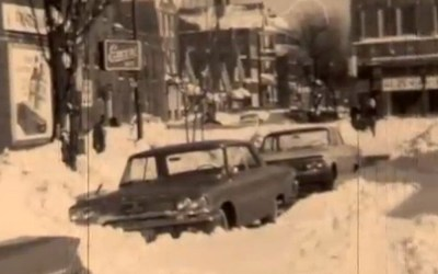 Chicago Blizzard of 1967: Snow storm coverage, video