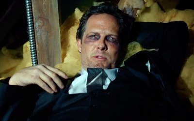 Allstate 'Raccoon Mayhem' commercial with Dean Winters