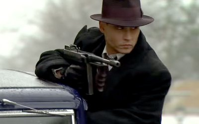 'Public Enemies' (Johnny Depp, Christian Bale movie, 2009)