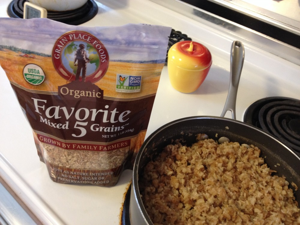 Favorite Five Organic Mixed Grains Cereal from Grain Place Foods