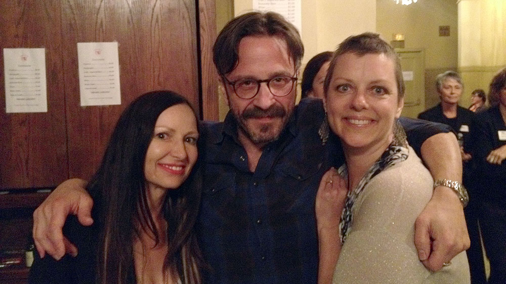 Radiation therapy, First Fridays, Marc Maron