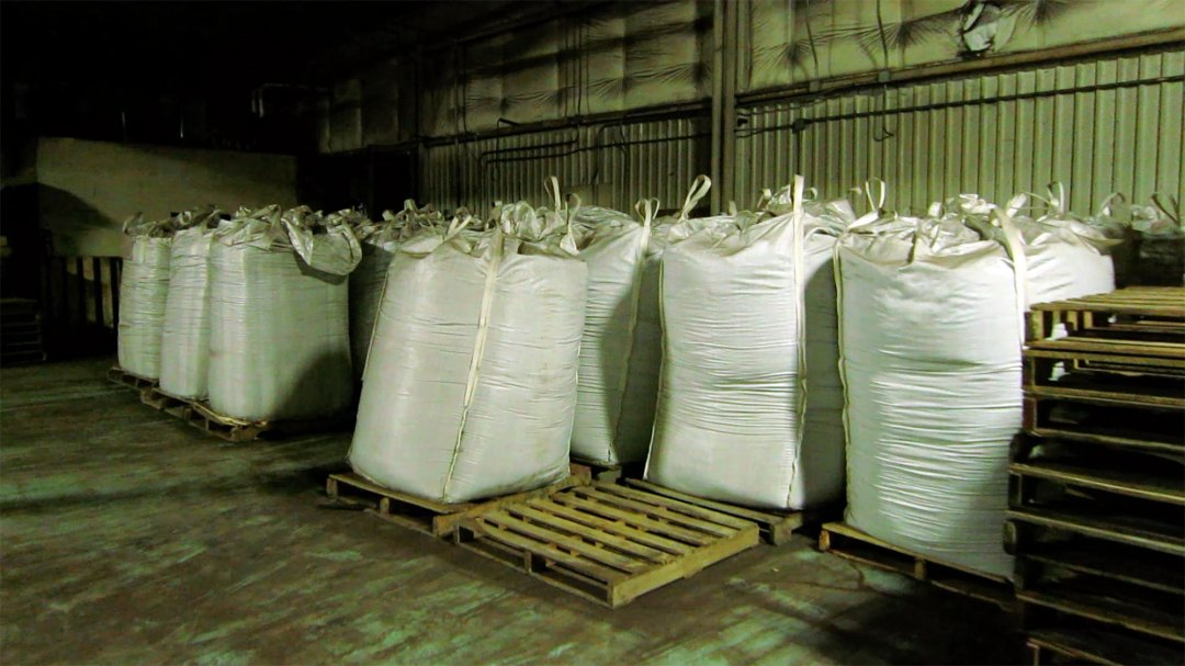 worm castings in one ton bags