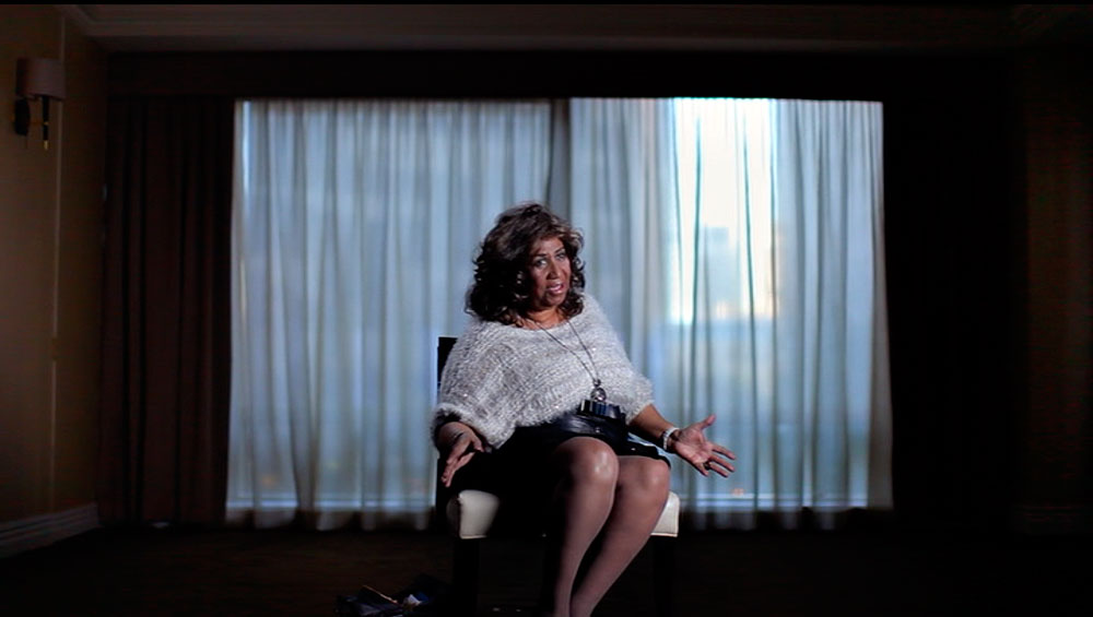 Aretha Franklin interviewed in Muscle Shoals (2013 movie)
