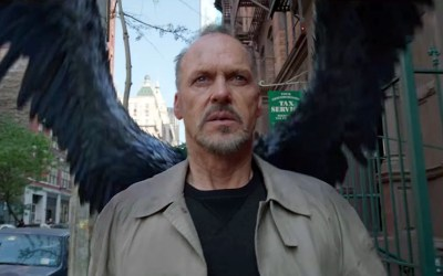 'Birdman' (2014 movie, Michael Keaton, Emma Stone)