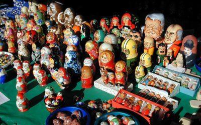 Green Bay Packers matryoshka (Russian nesting dolls)