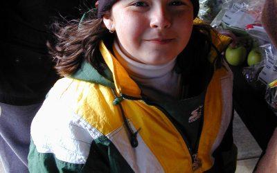 Green Bay Packers fan Nikki at Silver Lake Park