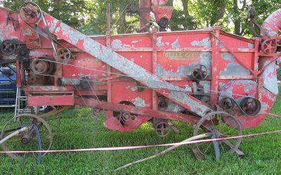 1915 Belle City threshing machine, Wisconsin