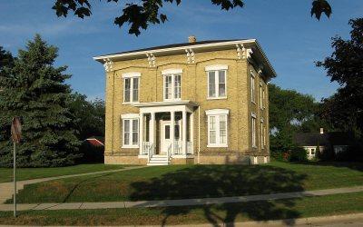 Historic house: Joshua Pierce House, Racine, Wisconsin