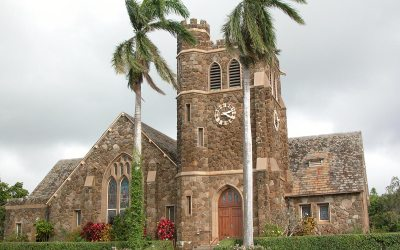 Makawao Union Church, Maui, Hawaii