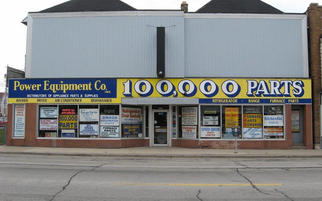 100,000 Parts Company, Bay View, Milwaukee