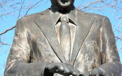 Ronald Reagan statue, Dixon, Illinois
