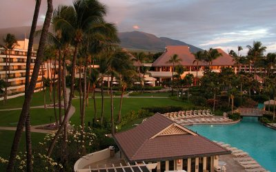 Sheraton Maui Resort & Spa at sunset