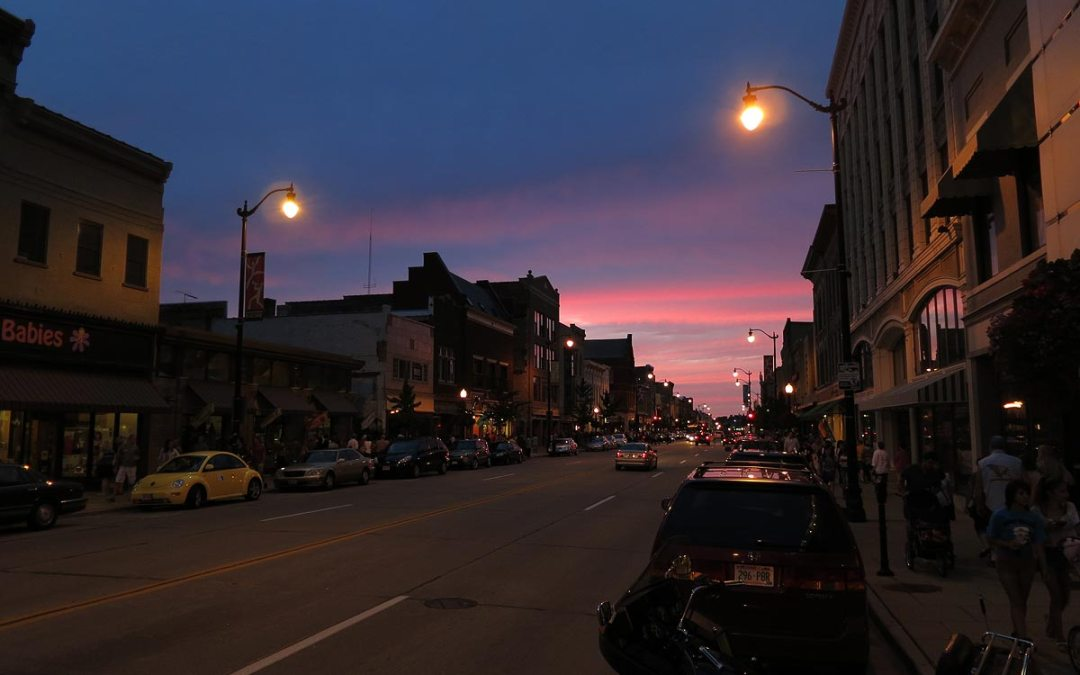 First Friday on Main Street, Racine, Wisconsin