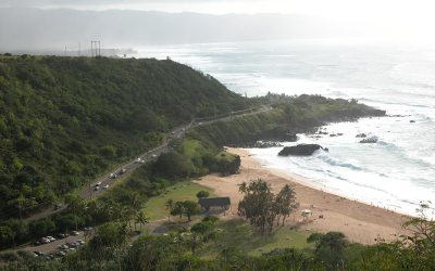 Waimea Bay: Waimea Beach Park,  Kamehameha Hwy