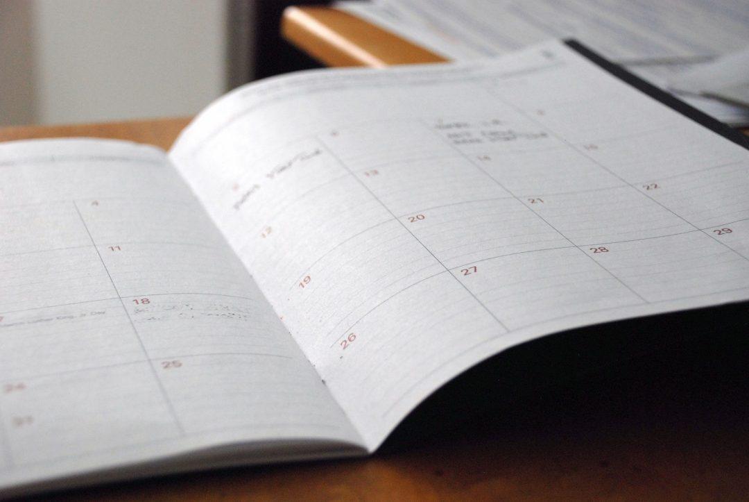 web design calendar