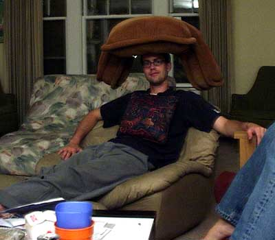 Chris and his hat