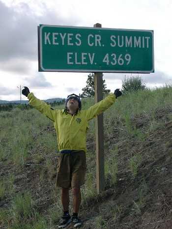 Keyes Creek summit
