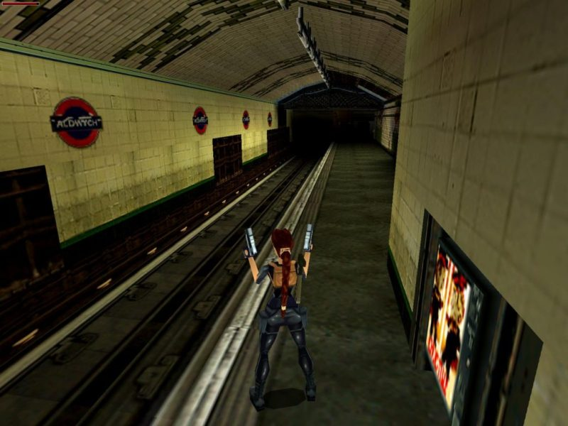 Aldwych level in Tomb Raider 3