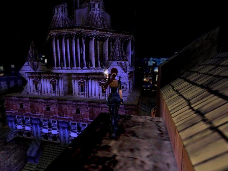 Thames Wharf level in Tomb Raider 3