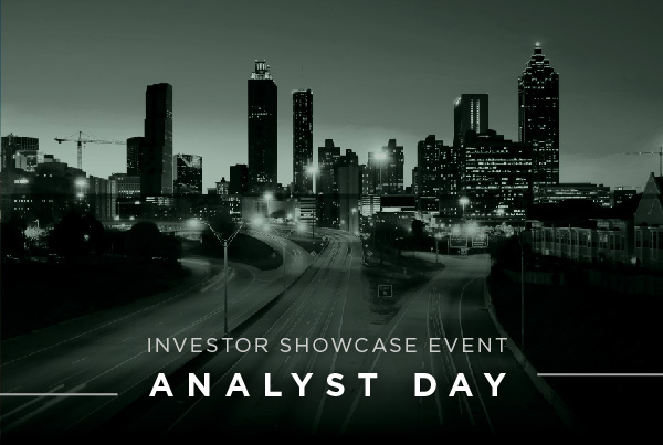 INVESTOR SHOWCASE EVENT