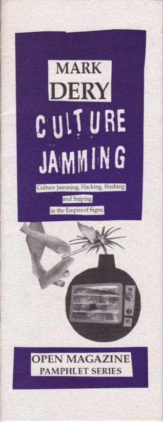 Original Cover of Culture Jamming