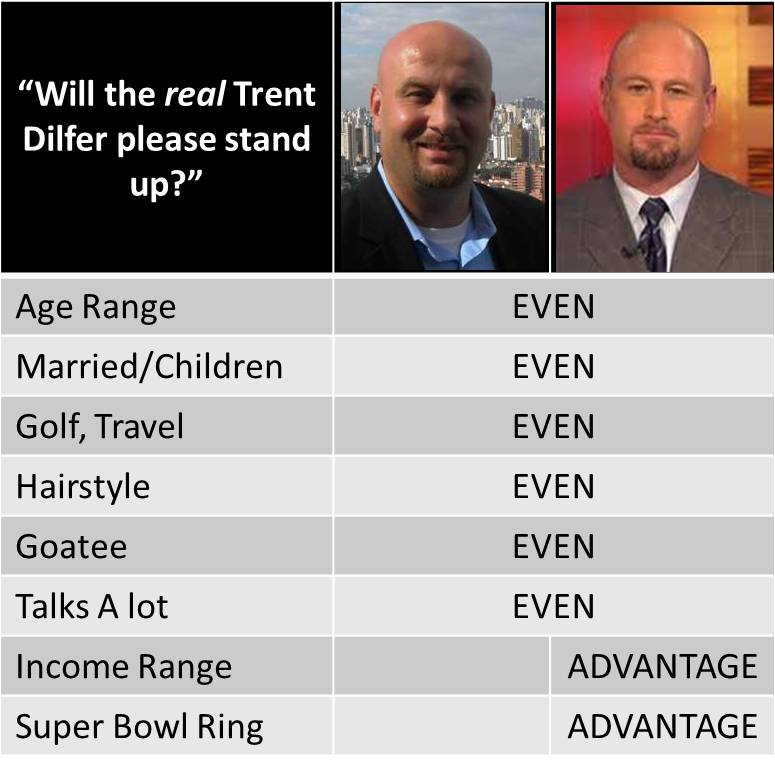 Will the REAL Trent Dilfer please stand up?