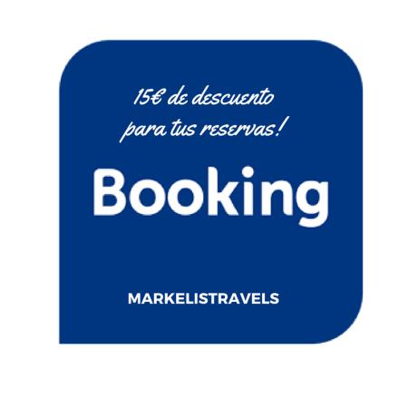 Descuento de 15€ para tus reservas en Booking