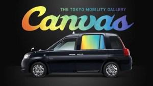 車窓モビリティサイネージサービス「THE TOKYO MOBILITY GALLERY Canvas」