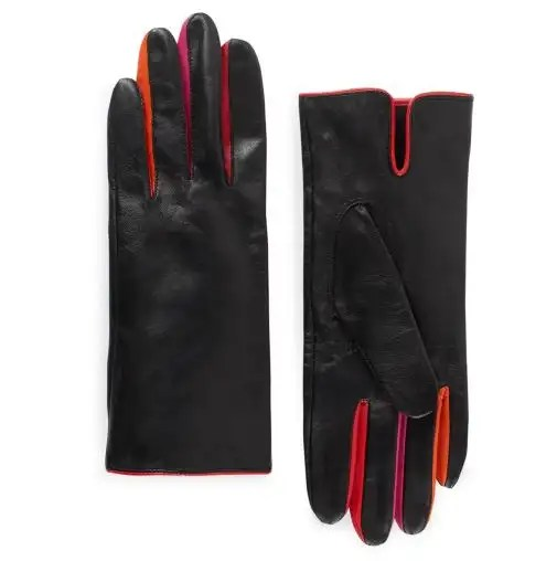 Kate Spade New York Quilted Logo Leather Tech Gloves