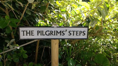 Pilgrims' steps