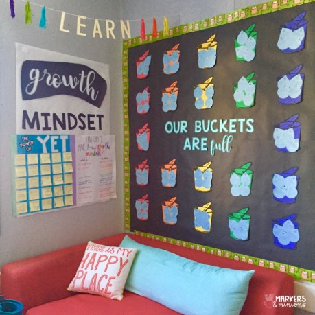 Growth Mindset Classroom Bulletin Board