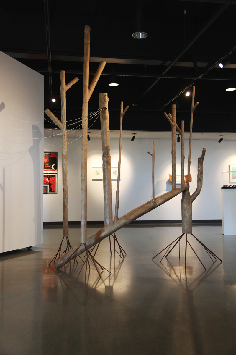 Paper Forest - Coastline Community College Art Gallery, Newport Beach, CA