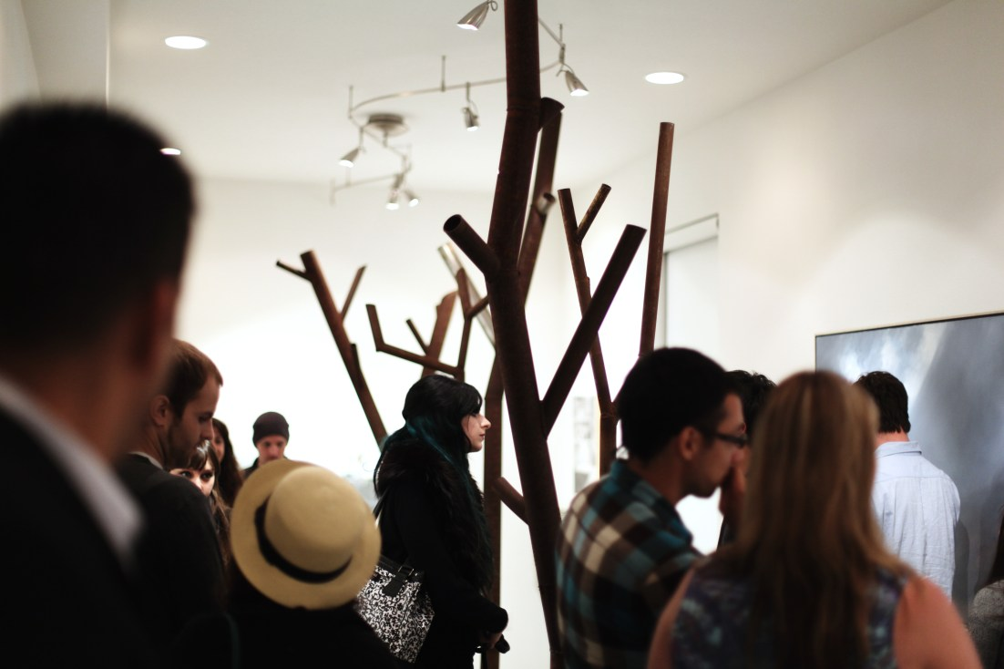 Five Steel Trees - Display Art Gallery, Santa Ana CA