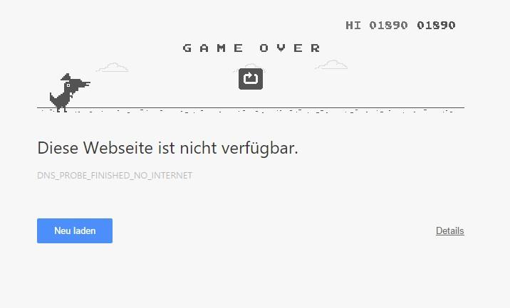 Google Chrome ist leider gut