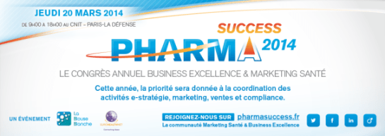 Pharma Compliance Info Le Think Tank Loi Bertrand à nouveau partenaire de PharmaSuccess 2014 Marketing & Market Access Think Tank LB