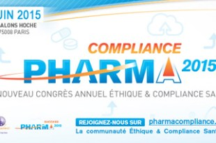 Pharma Compliance Info PharmaCompliance Paris 2015 : le Communiqué de Presse et le Programme Digital Global