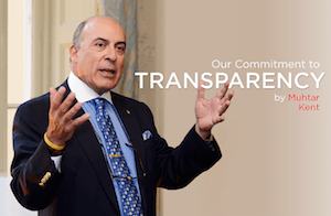 Pharma Compliance Info Coca-Cola's transparency initiative Global