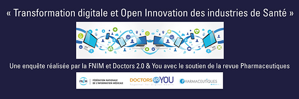 Pharma Compliance Info Transformation digitale et Open Innovation des industries de santé : les résultats de l'enquête Digital