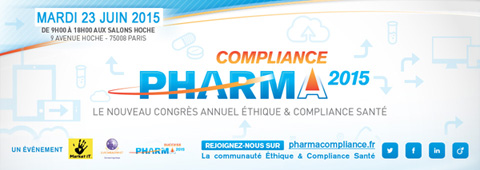 Market iT Grève le 9 avril : PharmaCompliance Paris reporté au Mardi 23 Juin 2015 - Save the new date ! Compliance