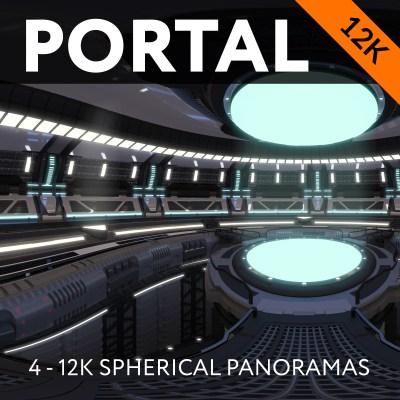 Portal - 4X 12K Spherical Panoramas