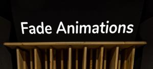 Fade Animations