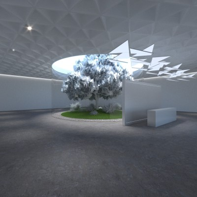 Art Gallery - 10K Resolution with 14 Panoramas & Grid