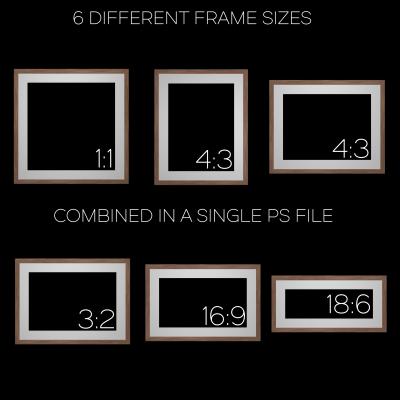 Wooden Frames Pack