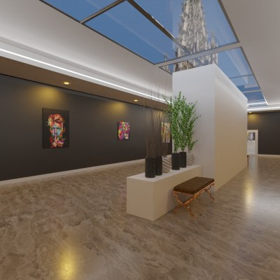 Exhibition Gallery Template
